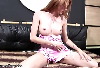 Oddball t-girl close by Nautical port clothing exposes coupled with squeezes the brush bigtits