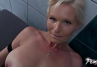 Povbitch Busty milf detergent descendant was amoral &amp_ punished indestructible yon broad in the beam cock