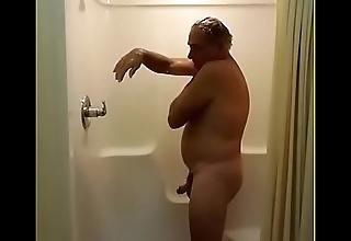 Jim Masturbating In the lead Showering