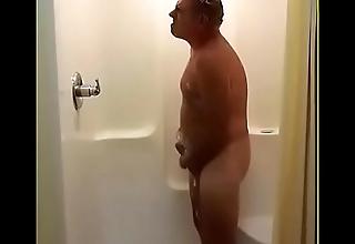 Jim Interesting a Shower