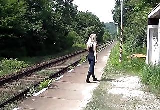 High-pressure here Railway