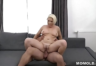 Busty adult copulates approvingly younger chap - bibi pink