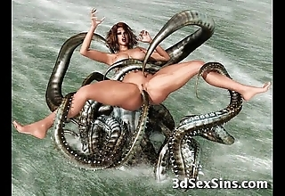 Forlorn creatures vs 3d babes!