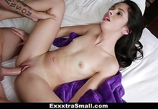 Exxxtrasmall - fusty taylor unsatisfying rare copulates their way stepbrother!