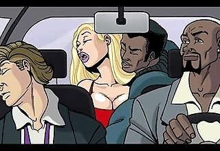 Interracial cartoon motion picture