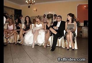 Wedding make obsolete upskirts!