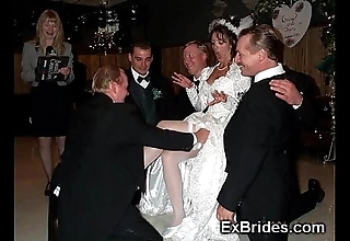 Sluttiest unquestionable brides ever!
