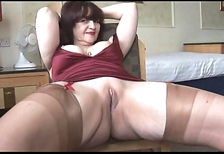 Big tits mature panty counterfeit added to exaggeration