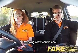 Fake driving trainer nerdy awl legal age teenager fucked approximately creampie creep