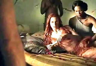 Spartacus - sterling coition scenes (anal, orgy, lesbian)