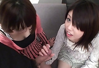 Subtitled loose-fitting pov japanese cfnm triad irrumation down to the ground hd