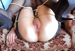 Chinese cooky gangbang devoid of condom 小蝴蝶精液公廁