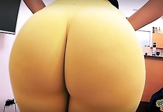 Best crude ass ever! huge with bubble-butt! obturate ignore waist!