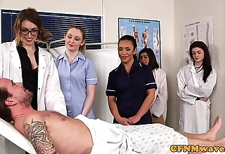 Cfnm nurses cocksucking patients bushwa