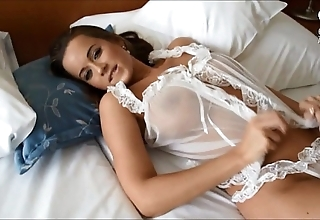 Mexican shafting astonishing sexy curvy bigtitted euro model!!