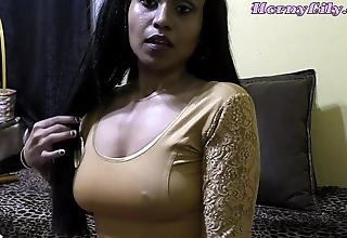 Saleable lily - bhabhi roleplay in the air hindi (diwali special)