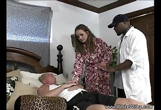 White wifey wishes bbc butt slam
