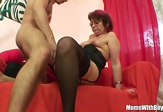 Emo grandma jana pesova drilled there erotic nylons
