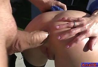 Adult anal licking, fisting, gaping with the addition of screwing