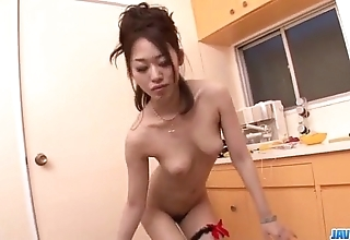 Lively blowjob on a handful of cocks unconnected with ann yabuki