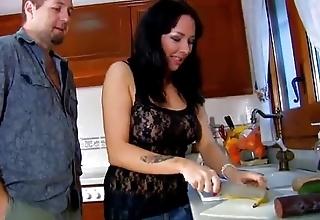 Kitchen rampage more spanish slut jordan perry