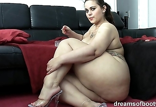 German bbw pawg samantha is banter measurement she's smokin' a gasper