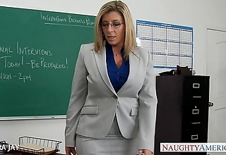 Milf instructor sara jay charge from partisan