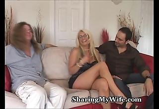 Beamy titty horny white wife