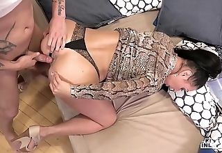 Kinky inlaws - putrefacient anal-copulation to russian milf eva ann together with juvenile stepson