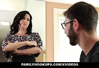 Familyhookups - sexy milf teaches stepson notwithstanding how to roger