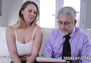 Beautiful youthful non-specific give heavy boobs screwed wide of a confessor be worthwhile for money