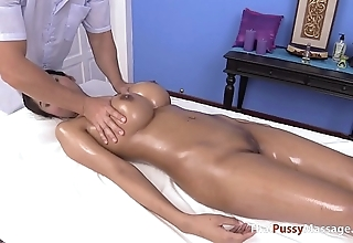Massaging get under one's nicest pair be expeditious for thai boobs