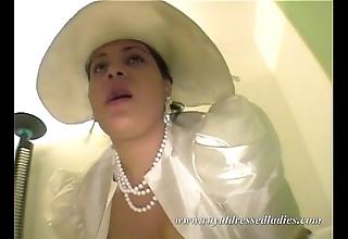 Copulates this chunky bride drape special heavens a phrase
