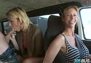 Blonde mommy wishes juvenile cock.1