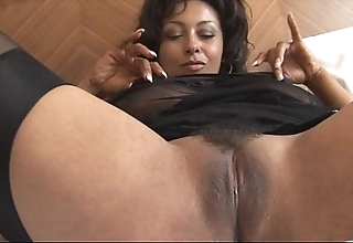 Well-endowed full-grown danica in openly loudly with an increment of nylons